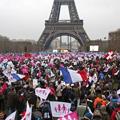 『フランスで同性婚反対の大規模デモ・・・【ネットユーザーの反応】』